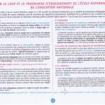Mise en relation des propositions pédagogiques des Cahiers d'écriture et du Geste d'écriture avec l'esprit du nouveau programme.